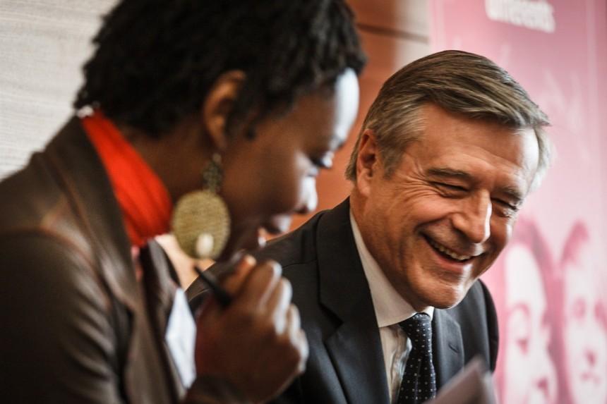 Jacky Lintignat, Directeur Général de KPMG et Président de la Fondation KPMG  rencontre les leaders différents