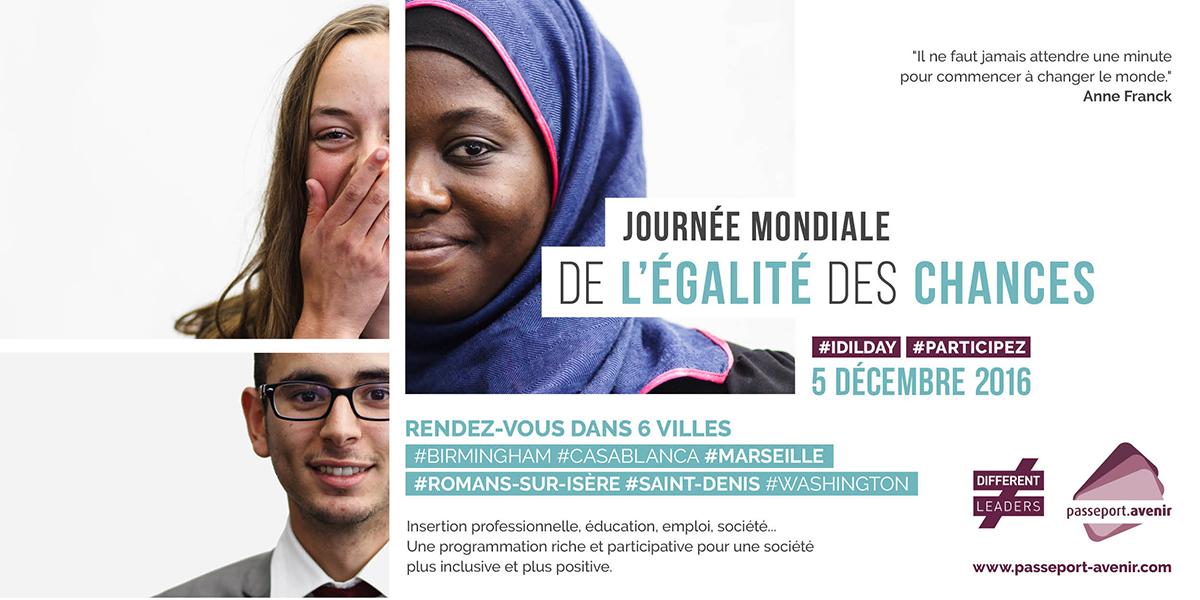 Journée mondiale égalité des chances