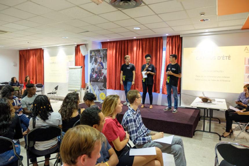 Les «faux défauts»: faire de sa différence un atout / Atelier lors du Campus d'été 2018