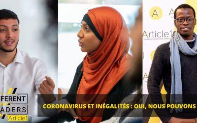 Coronavirus et inégalités : oui, nous pouvons agir